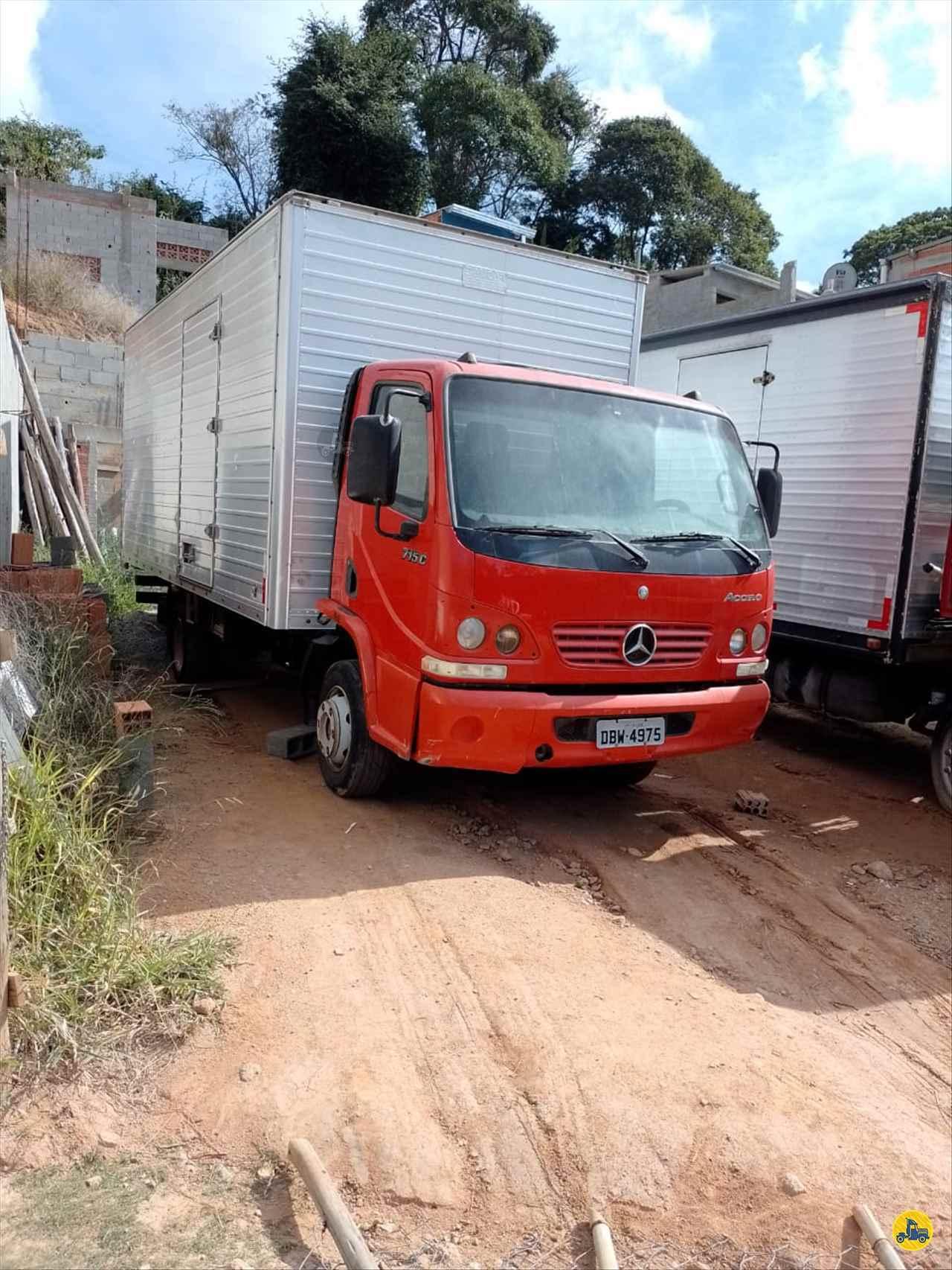 CAMINHAO MERCEDES-BENZ MB 715 Baú Furgão Toco 4x2 Wilson Caminhões RIBEIRAO PIRES SÃO PAULO SP