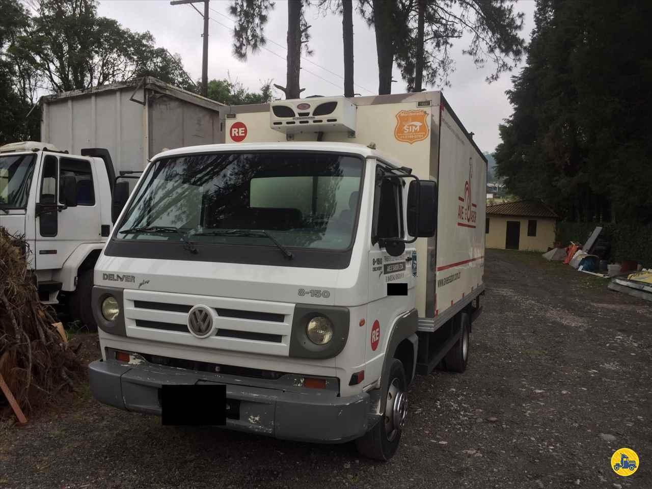 CAMINHAO VOLKSWAGEN VW 8150 Baú Frigorífico Toco 4x2 Wilson Caminhões RIBEIRAO PIRES SÃO PAULO SP