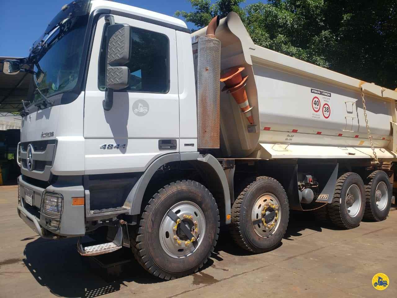 CAMINHAO MERCEDES-BENZ MB 4844 Caçamba Basculante BiTruck 8x4 Wilson Caminhões RIBEIRAO PIRES SÃO PAULO SP