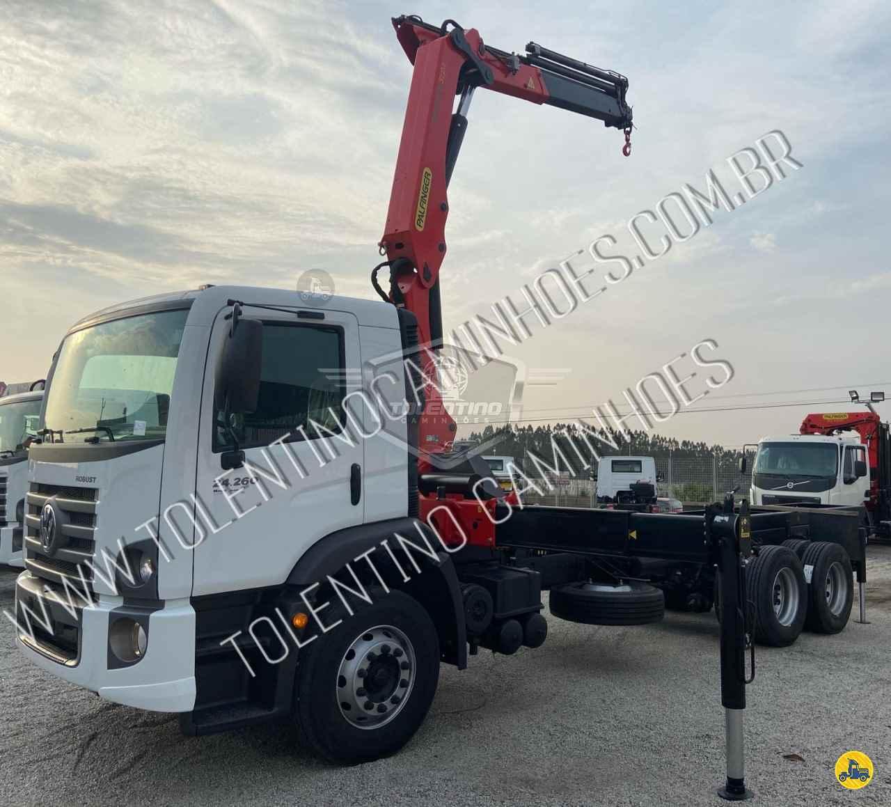 CAMINHAO VOLKSWAGEN VW 24260 Guincho Munck Truck 6x2 Tolentino Caminhões ITU SÃO PAULO SP