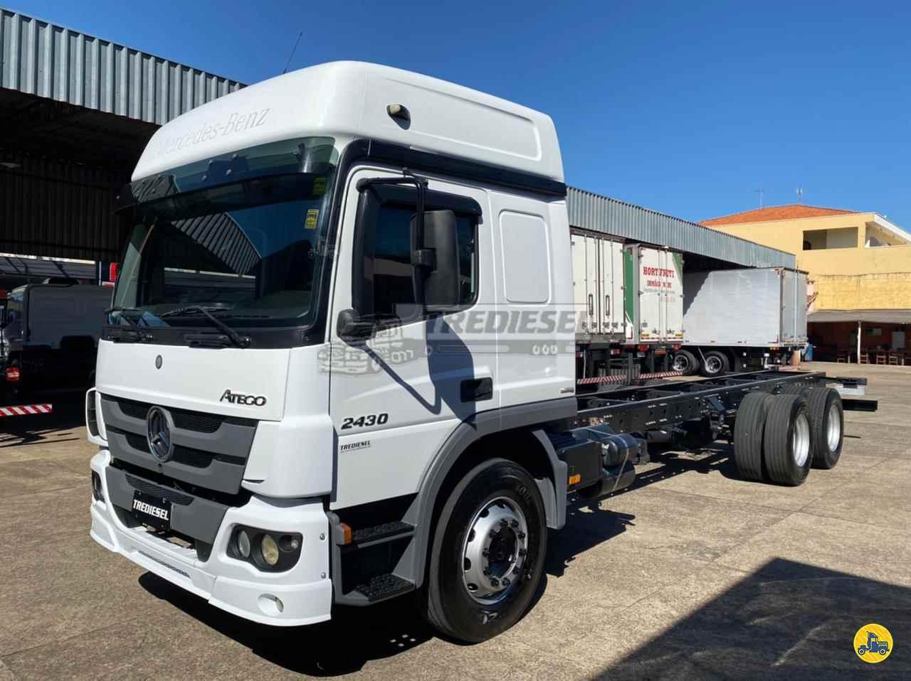 CAMINHAO MERCEDES-BENZ MB 2430 Chassis Truck 6x2 Trediesel Caminhões ANDRADAS MINAS GERAIS MG
