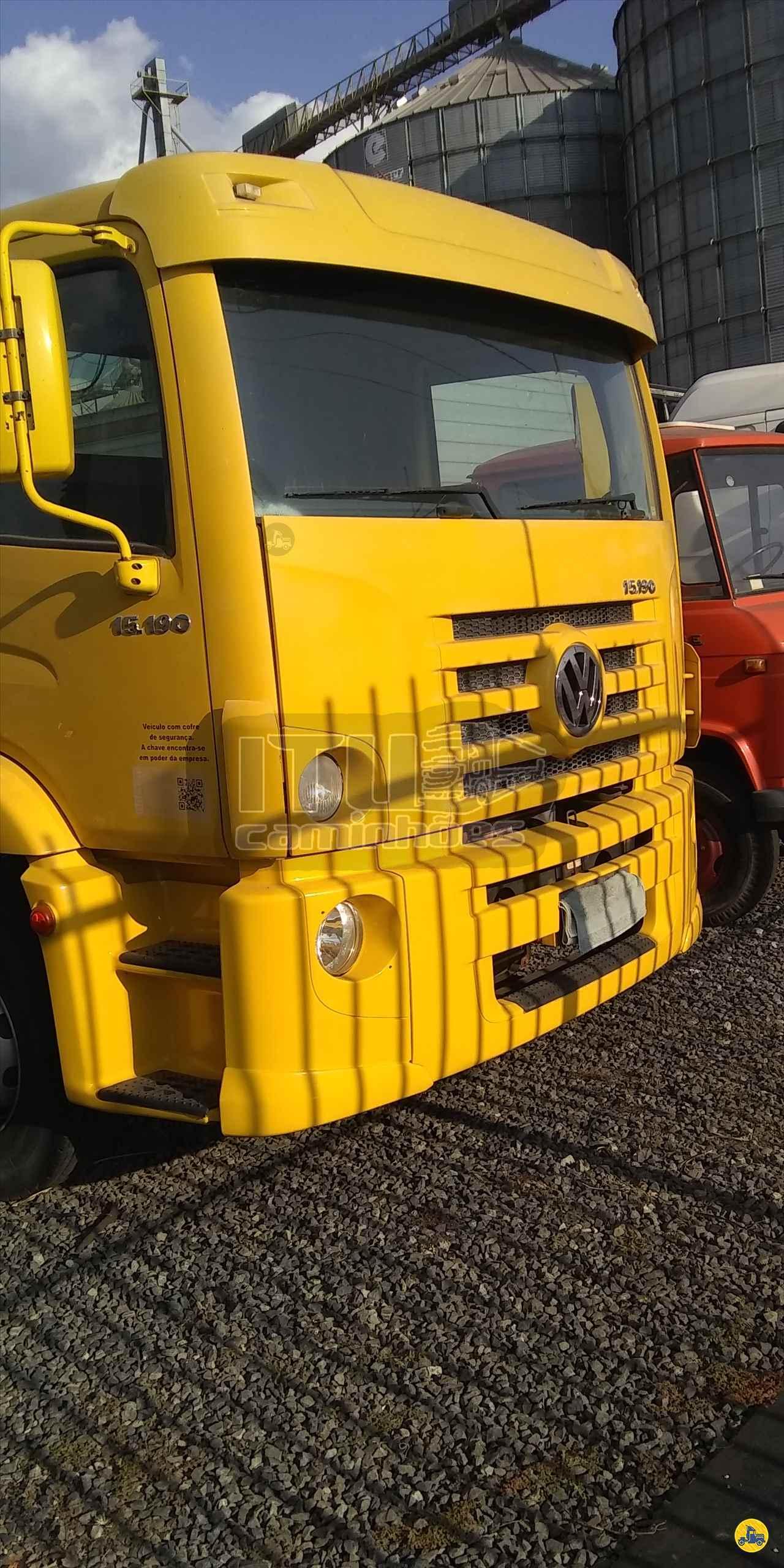 CAMINHAO VOLKSWAGEN VW 15190 Chassis Toco 4x2 Itu Caminhoes ITU SÃO PAULO SP