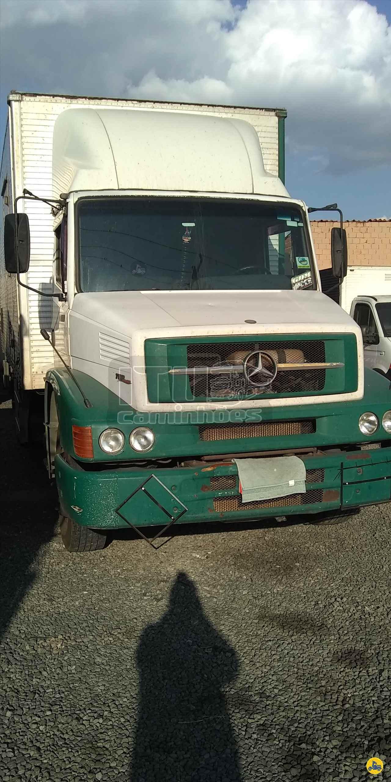 CAMINHAO MERCEDES-BENZ MB 1620 Baú Furgão Truck 6x2 Itu Caminhoes ITU SÃO PAULO SP
