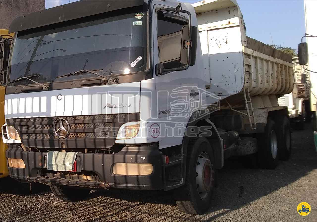CAMINHAO MERCEDES-BENZ MB 2425 Caçamba Basculante Truck 6x2 Itu Caminhoes ITU SÃO PAULO SP