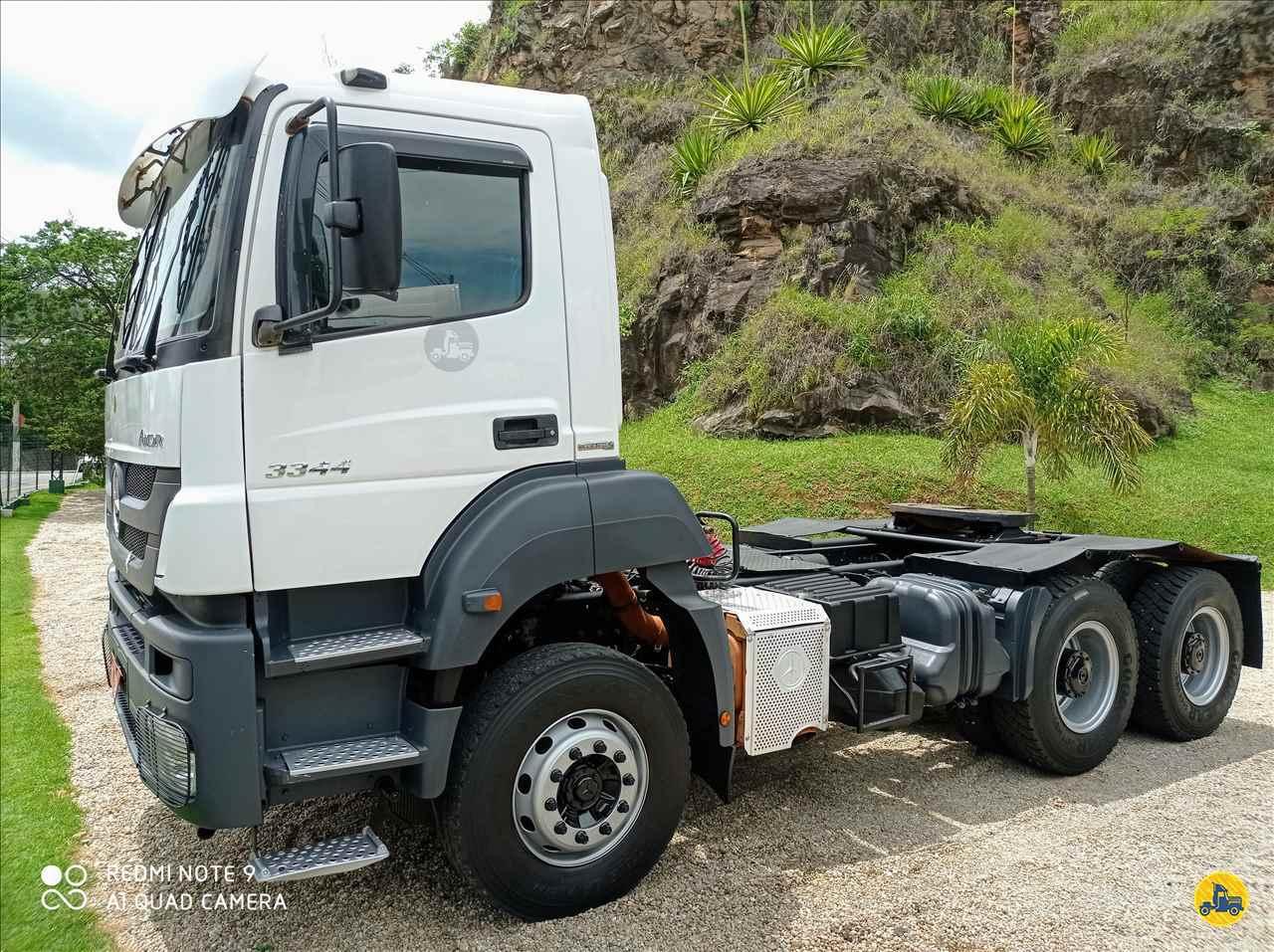 CAMINHAO MERCEDES-BENZ MB 3344 Cavalo Mecânico Traçado 6x4 Fubá Caminhões ITAJUBA MINAS GERAIS MG