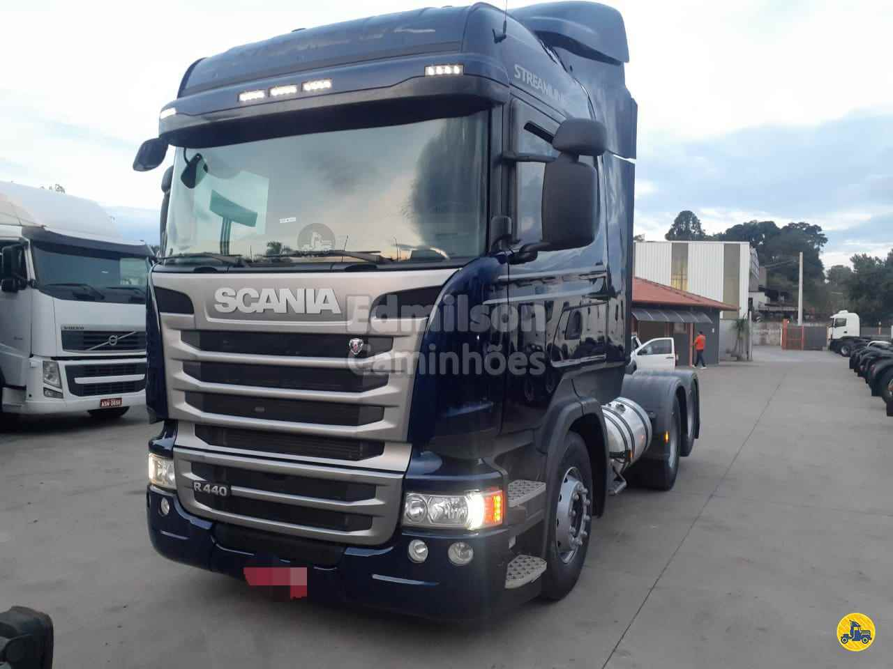 CAMINHAO SCANIA SCANIA 440 Cavalo Mecânico Truck 6x2 Edmilson Caminhões Itajubá MG ITAJUBA MINAS GERAIS MG