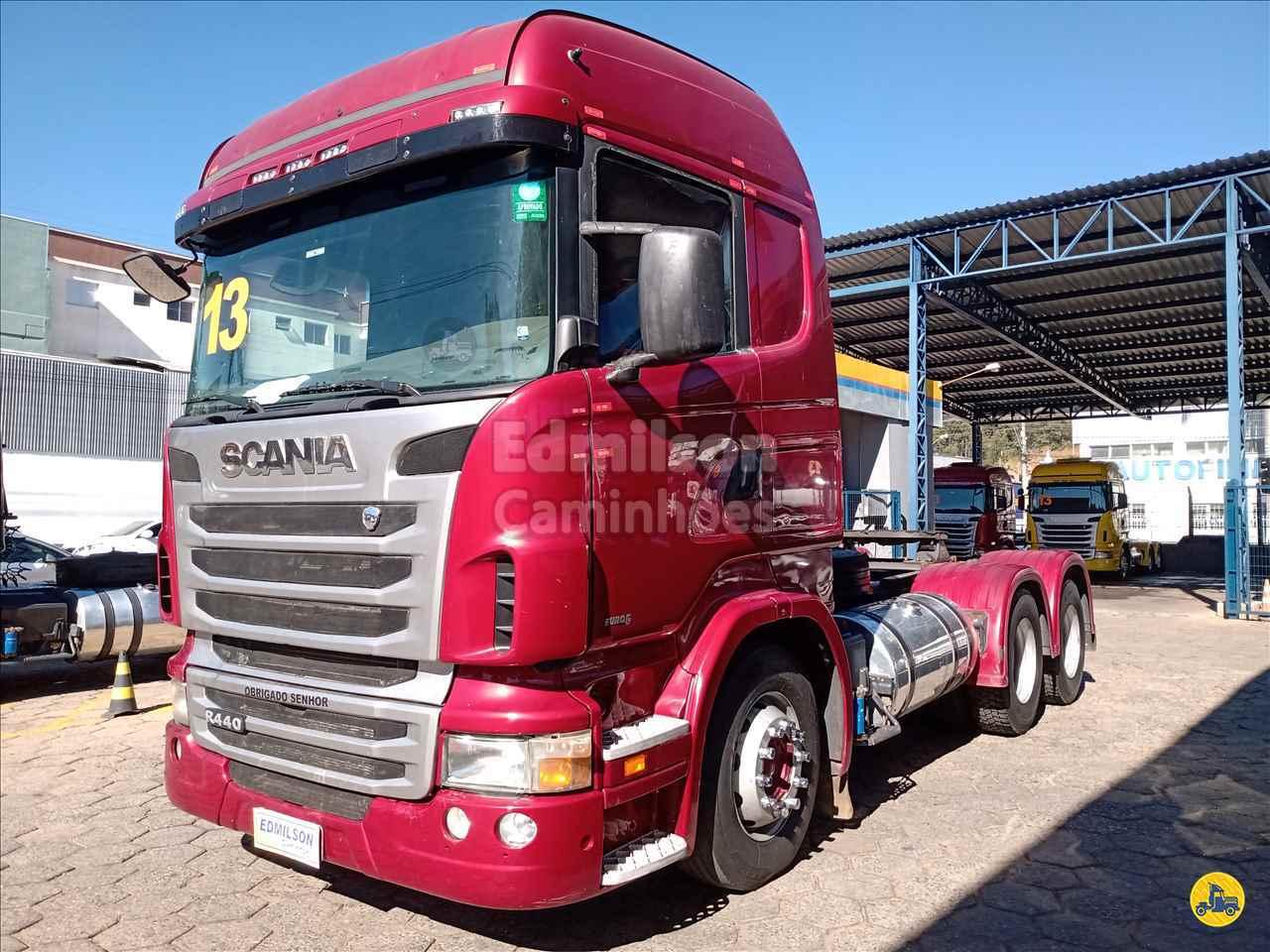 CAMINHAO SCANIA SCANIA 440 Cavalo Mecânico Traçado 6x4 Edmilson Caminhões Itajubá MG ITAJUBA MINAS GERAIS MG