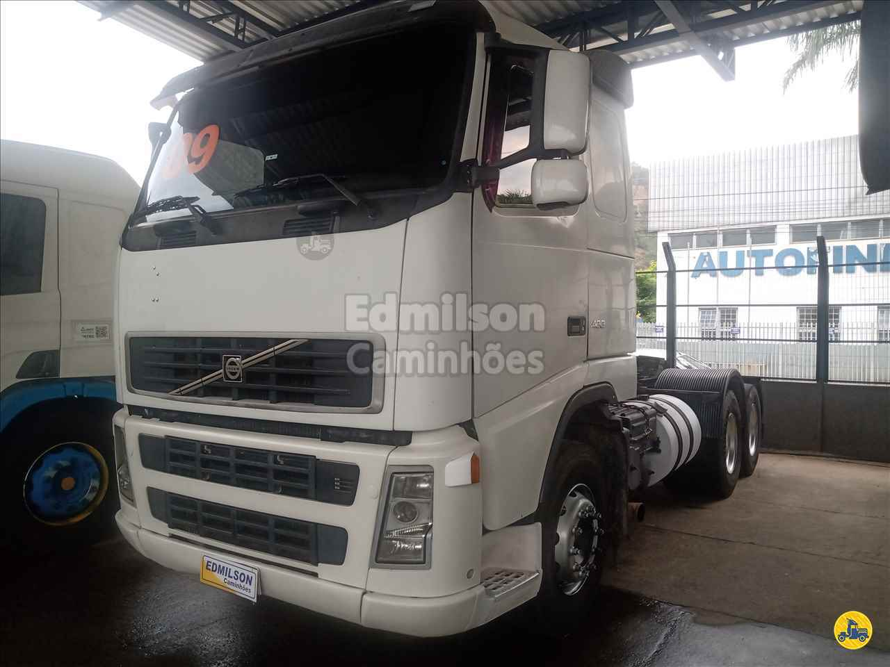 CAMINHAO VOLVO VOLVO FH 400 Cavalo Mecânico Truck 6x2 Edmilson Caminhões Itajubá MG ITAJUBA MINAS GERAIS MG