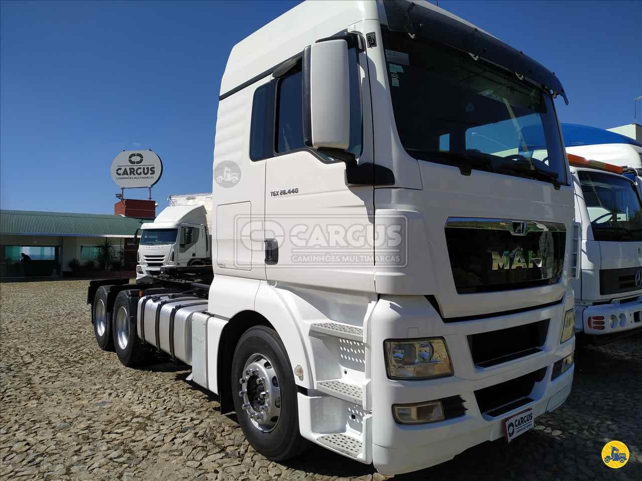 CAMINHAO MAN TGX 28 440 Cavalo Mecânico Truck 6x2 Cargus Veículos PARA DE MINAS MINAS GERAIS MG
