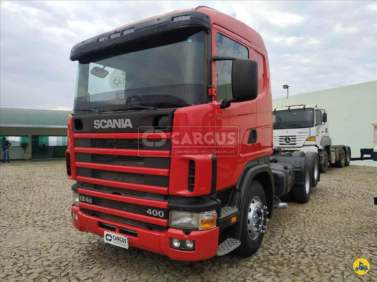 CAMINHAO SCANIA SCANIA 124 400 Cavalo Mecânico Truck 6x2 Cargus Veículos PARA DE MINAS MINAS GERAIS MG
