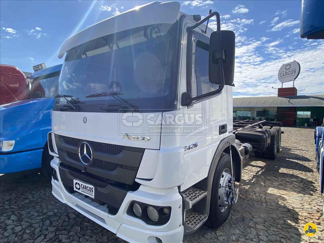 CAMINHAO MERCEDES-BENZ MB 2426 Chassis Truck 6x2 Cargus Veículos PARA DE MINAS MINAS GERAIS MG
