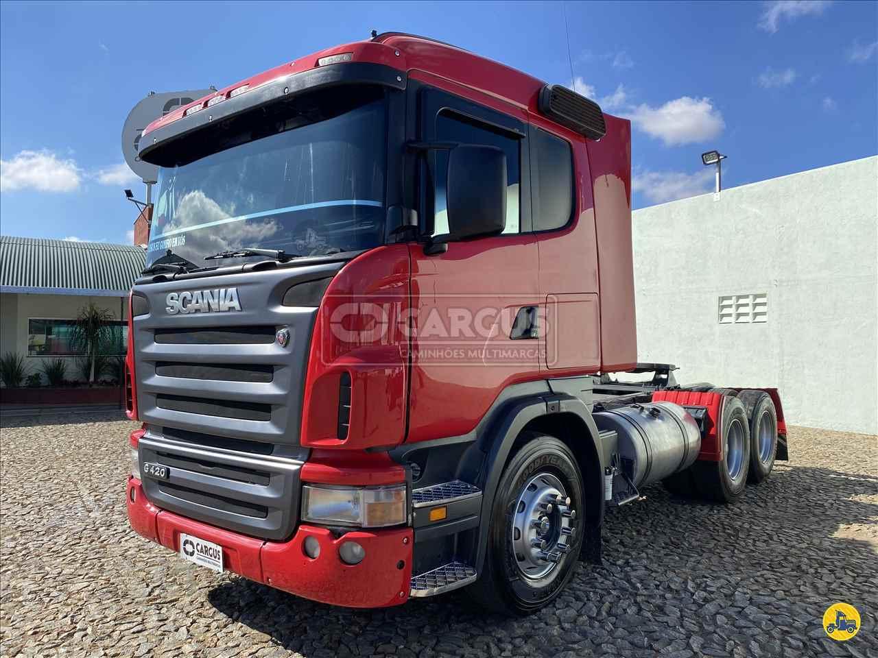 CAMINHAO SCANIA SCANIA 124 420 Cavalo Mecânico Truck 6x2 Cargus Veículos PARA DE MINAS MINAS GERAIS MG