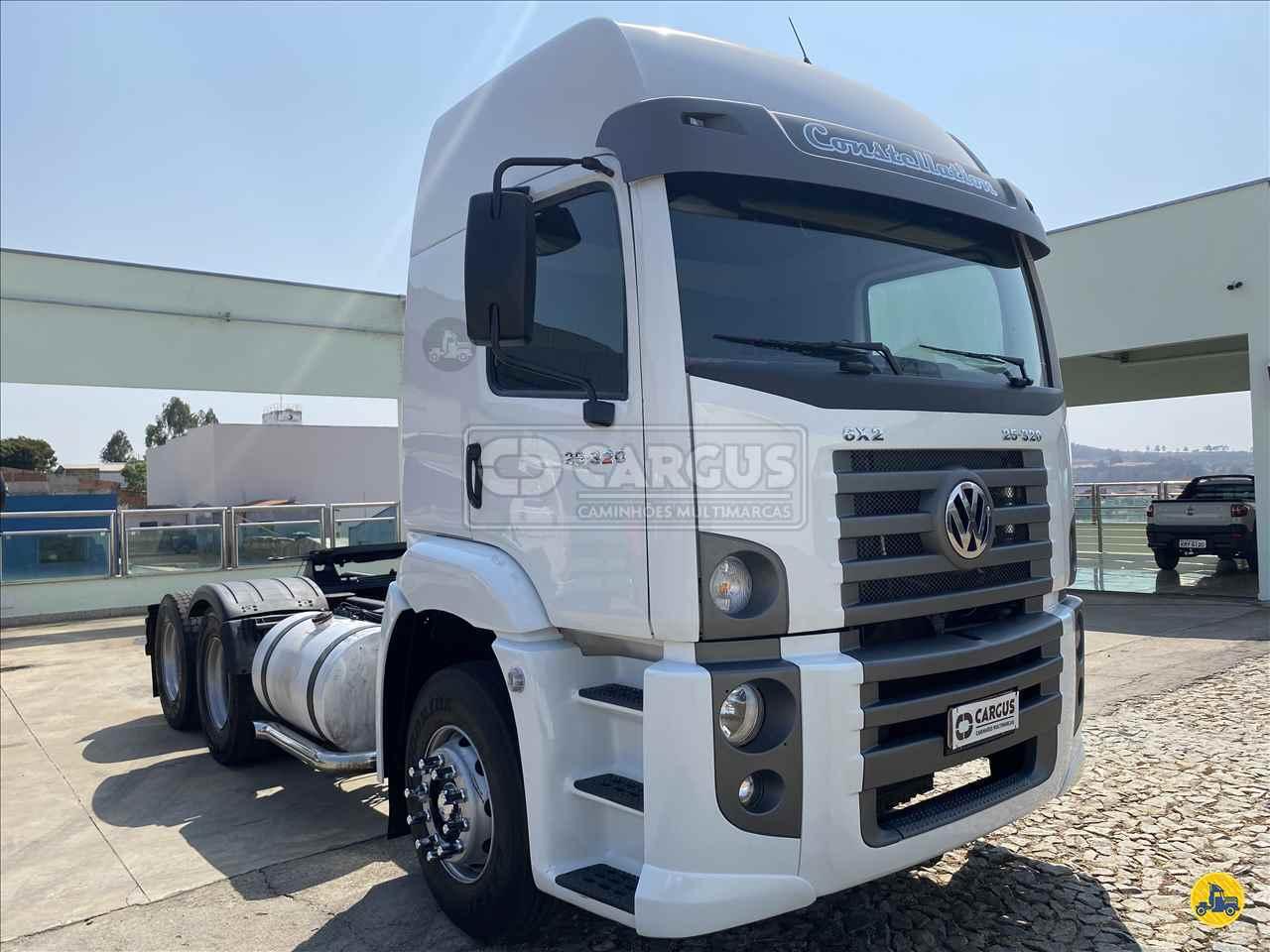 CAMINHAO VOLKSWAGEN VW 25320 Cavalo Mecânico Truck 6x2 Cargus Veículos PARA DE MINAS MINAS GERAIS MG
