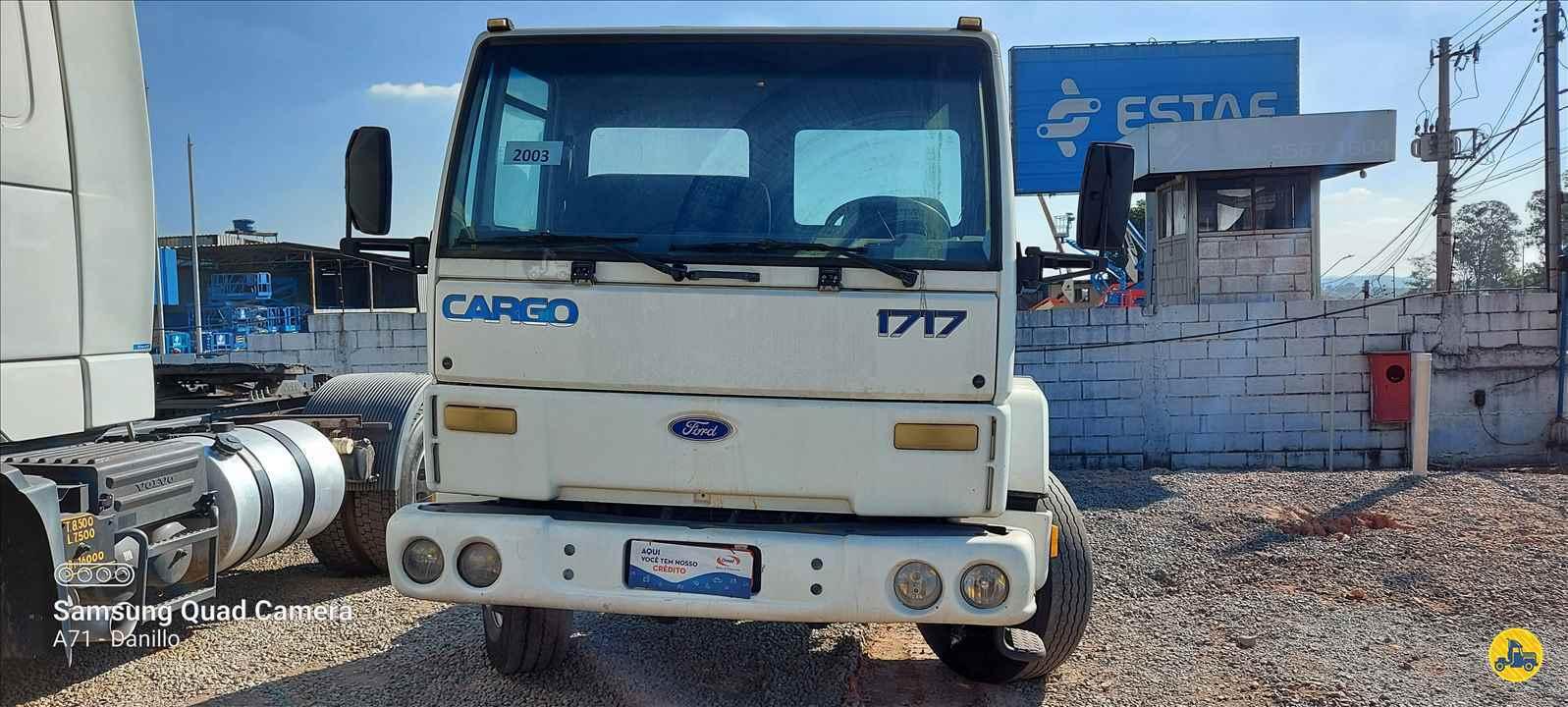 CAMINHAO FORD CARGO 1717 Chassis Toco 4x2 13 de Maio Caminhões BETIM MINAS GERAIS MG