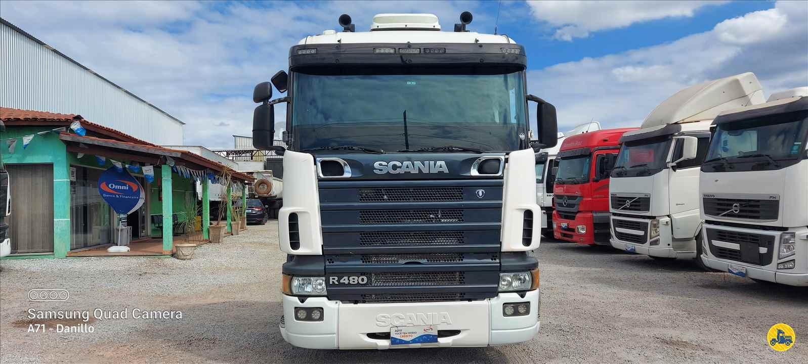CAMINHAO SCANIA SCANIA 480 Cavalo Mecânico Traçado 6x4 13 de Maio Caminhões BETIM MINAS GERAIS MG