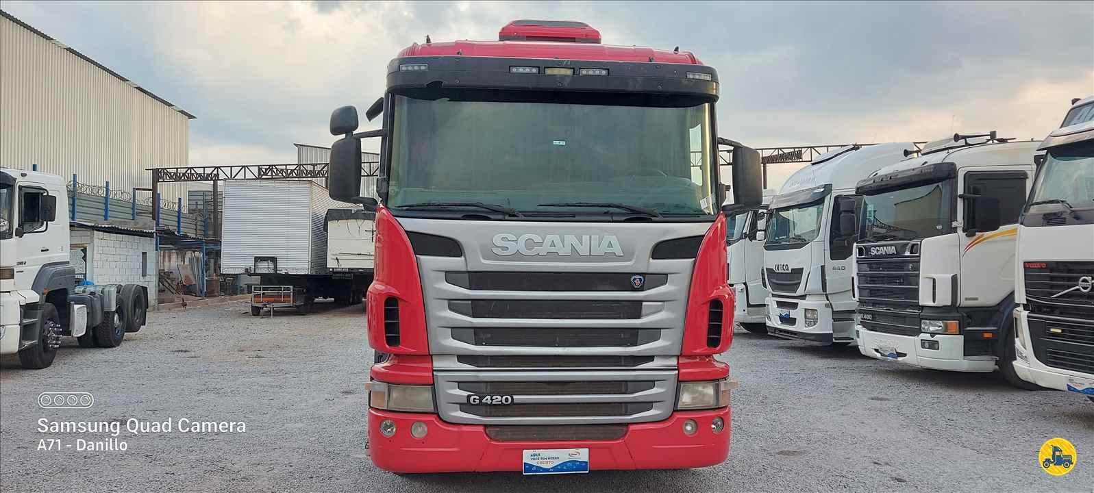 CAMINHAO SCANIA SCANIA 124 420 Cavalo Mecânico Truck 6x2 13 de Maio Caminhões BETIM MINAS GERAIS MG