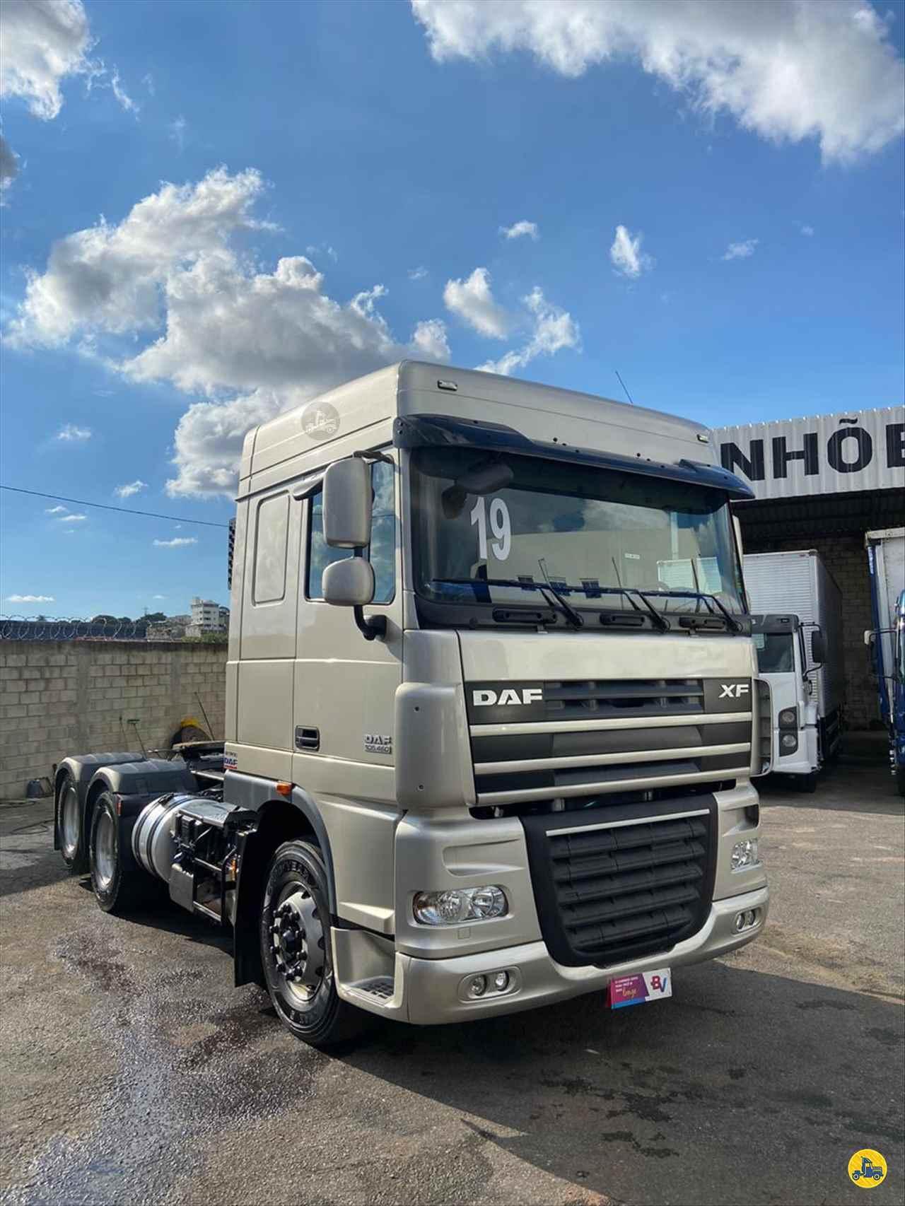 CAMINHAO DAF DAF XF105 460 Chassis Truck 6x2 Gegê Caminhões CONTAGEM MINAS GERAIS MG