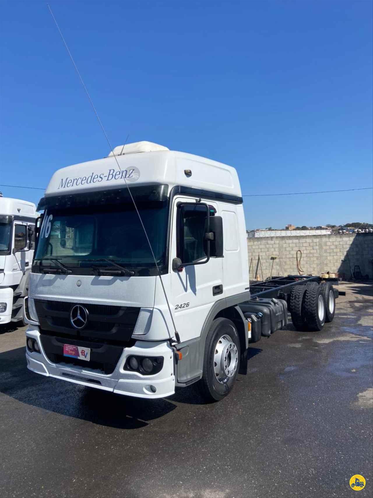 CAMINHAO MERCEDES-BENZ MB 2426 Chassis Truck 6x2 Gegê Caminhões CONTAGEM MINAS GERAIS MG