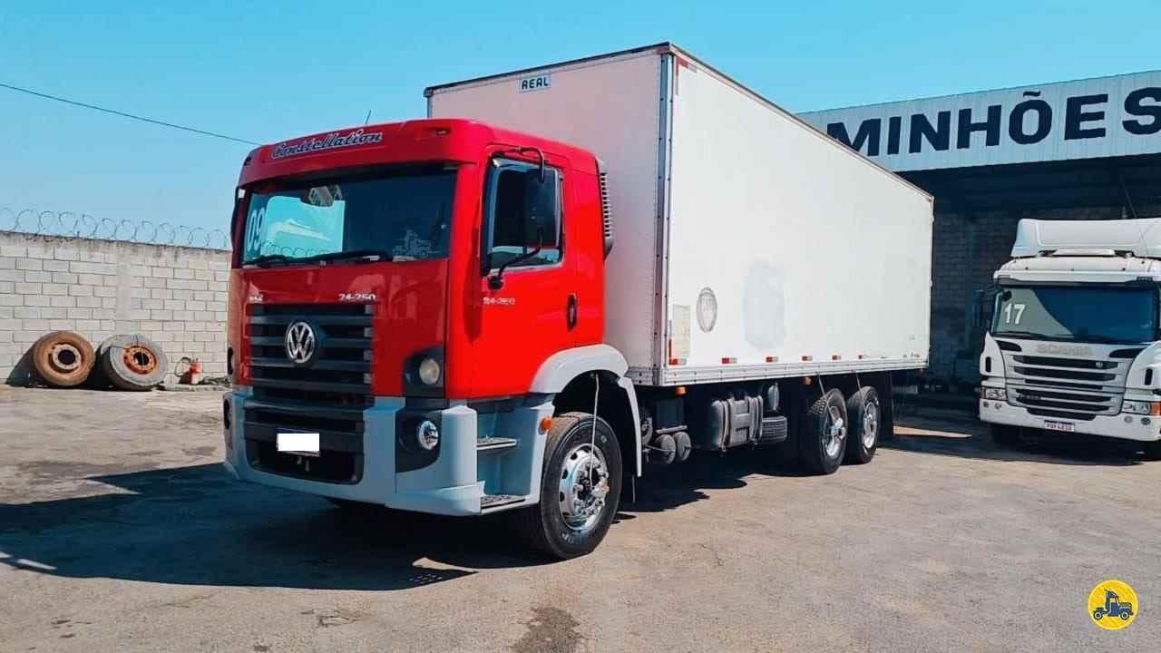 CAMINHAO VOLKSWAGEN VW 24250 Baú Furgão Truck 6x2 Gegê Caminhões CONTAGEM MINAS GERAIS MG