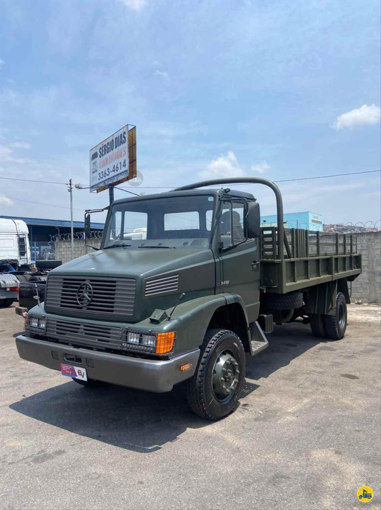 CAMINHAO MERCEDES-BENZ MB 1418 Carga Seca Toco 4x4 Gegê Caminhões CONTAGEM MINAS GERAIS MG