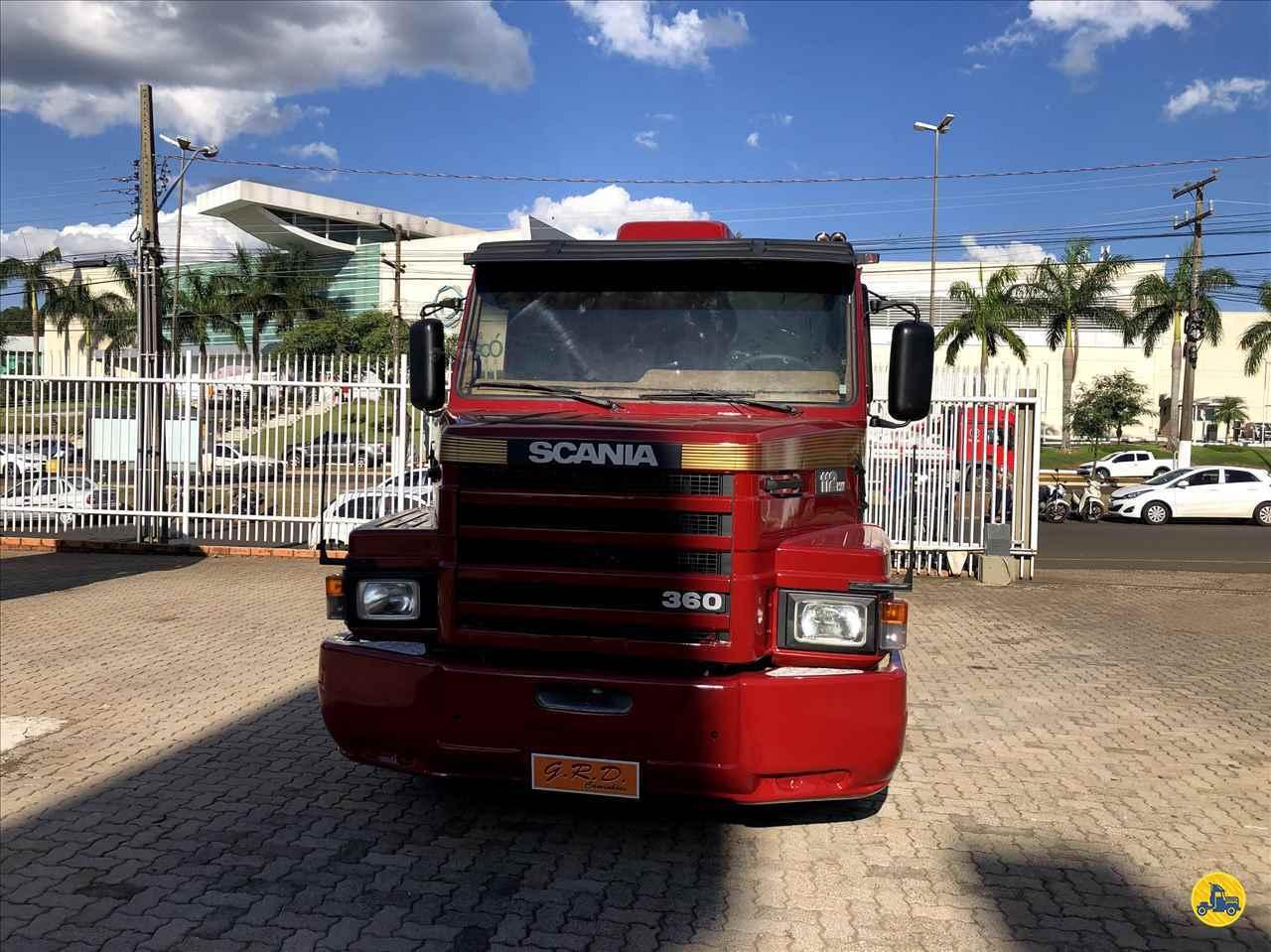 SCANIA SCANIA 112 360 100km 1989/1990 G.R.D. Caminhões