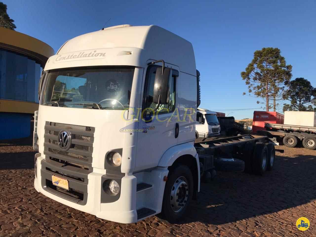 CAMINHAO VOLKSWAGEN VW 24250 Graneleiro Truck 6x2 Giocar Caminhões PATO BRANCO PARANÁ PR