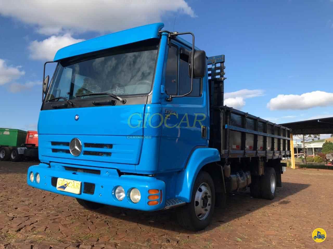 CAMINHAO MERCEDES-BENZ MB 712 Graneleiro 3/4 4x2 Giocar Caminhões PATO BRANCO PARANÁ PR