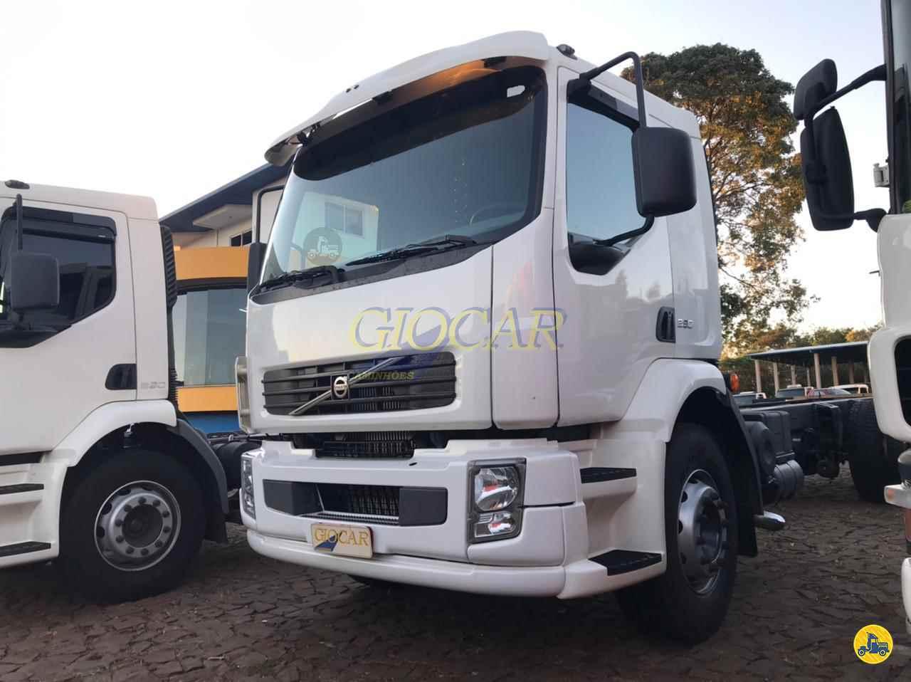 CAMINHAO VOLVO VOLVO VM 260 Chassis Truck 6x2 Giocar Caminhões PATO BRANCO PARANÁ PR