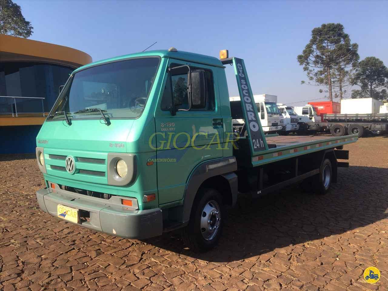 CAMINHAO VOLKSWAGEN VW 8150 Plataforma Guincho 3/4 4x2 Giocar Caminhões PATO BRANCO PARANÁ PR
