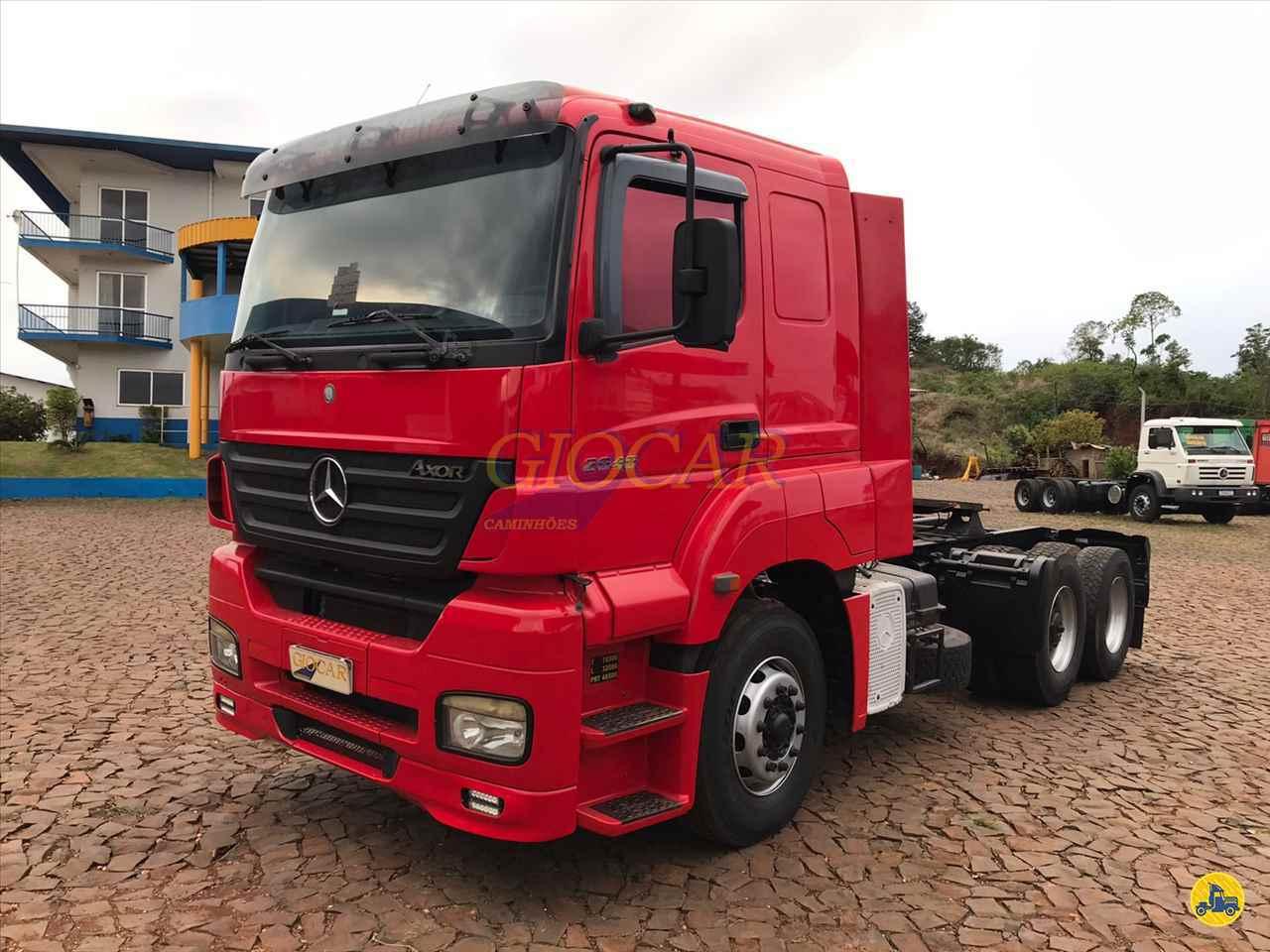 CAMINHAO MERCEDES-BENZ MB 2040 Cavalo Mecânico Truck 6x2 Giocar Caminhões PATO BRANCO PARANÁ PR