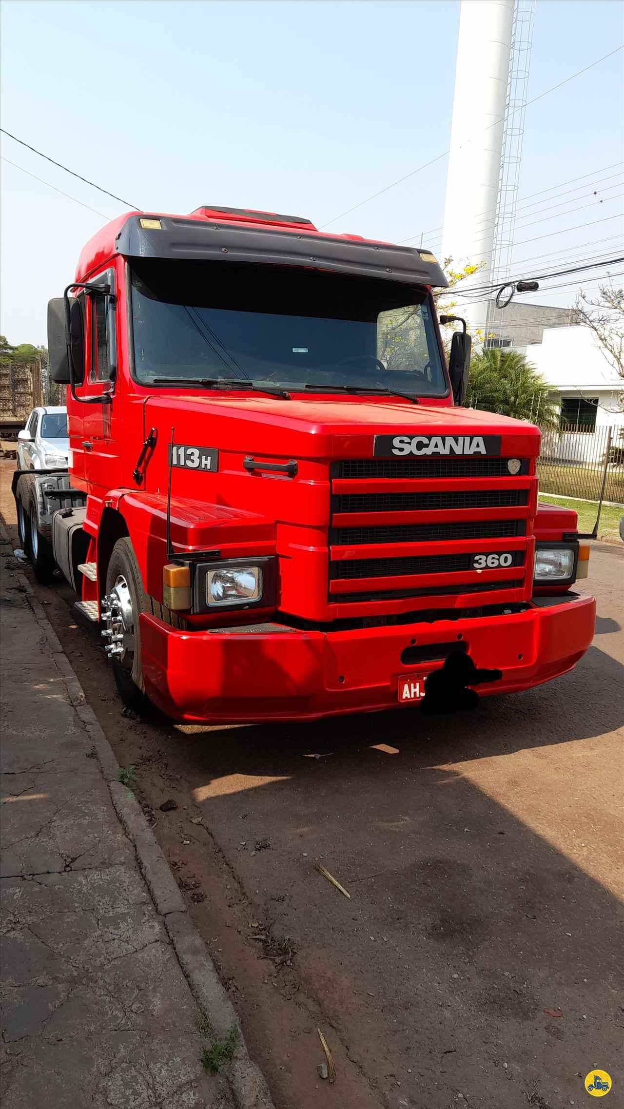 CAMINHAO SCANIA SCANIA 113 360 Cavalo Mecânico Truck 6x2 Ventania Caminhões MARINGA PARANÁ PR