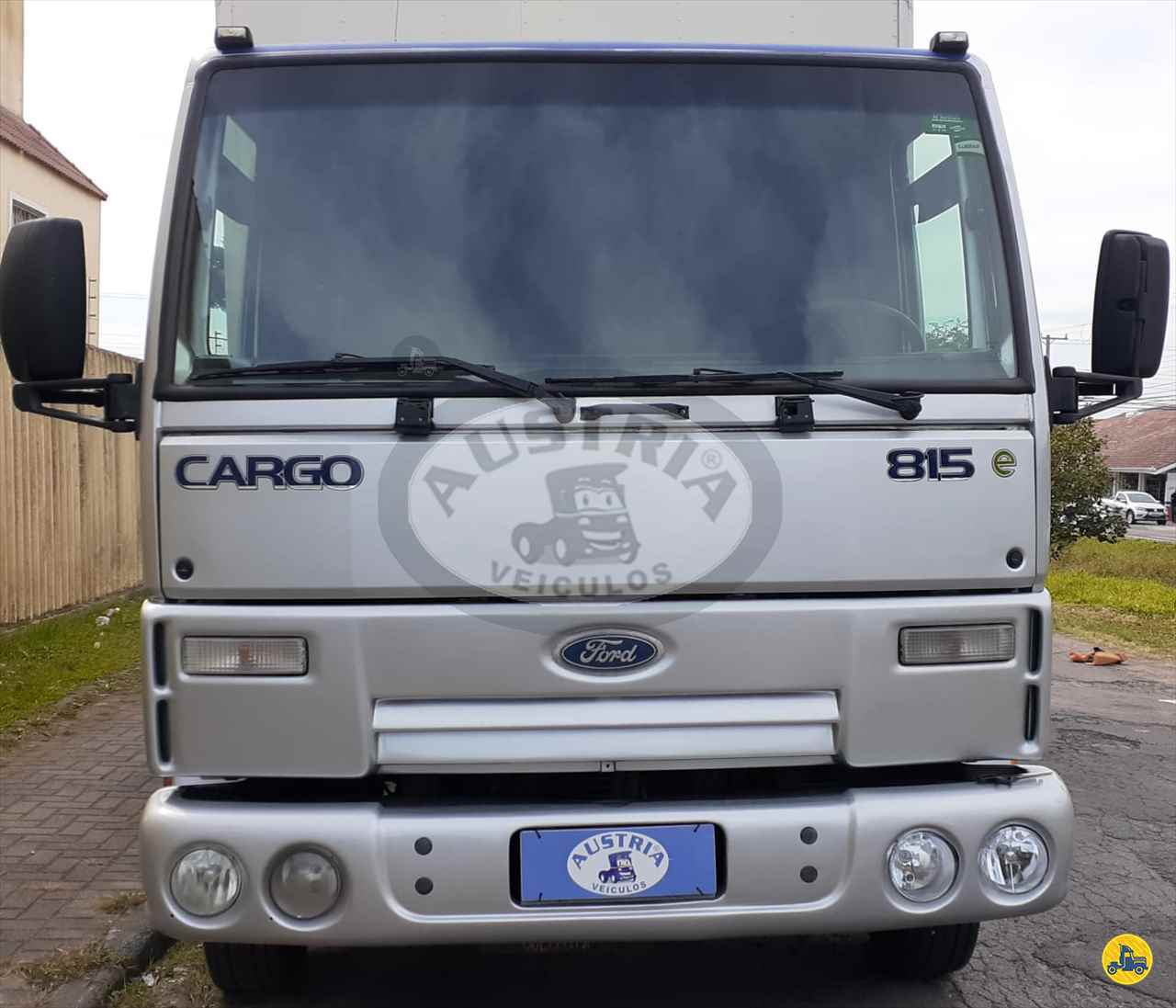 CAMINHAO FORD CARGO 815 Baú Furgão 3/4 4x2 Austria Utilitários e Financiamentos CURITIBA PARANÁ PR