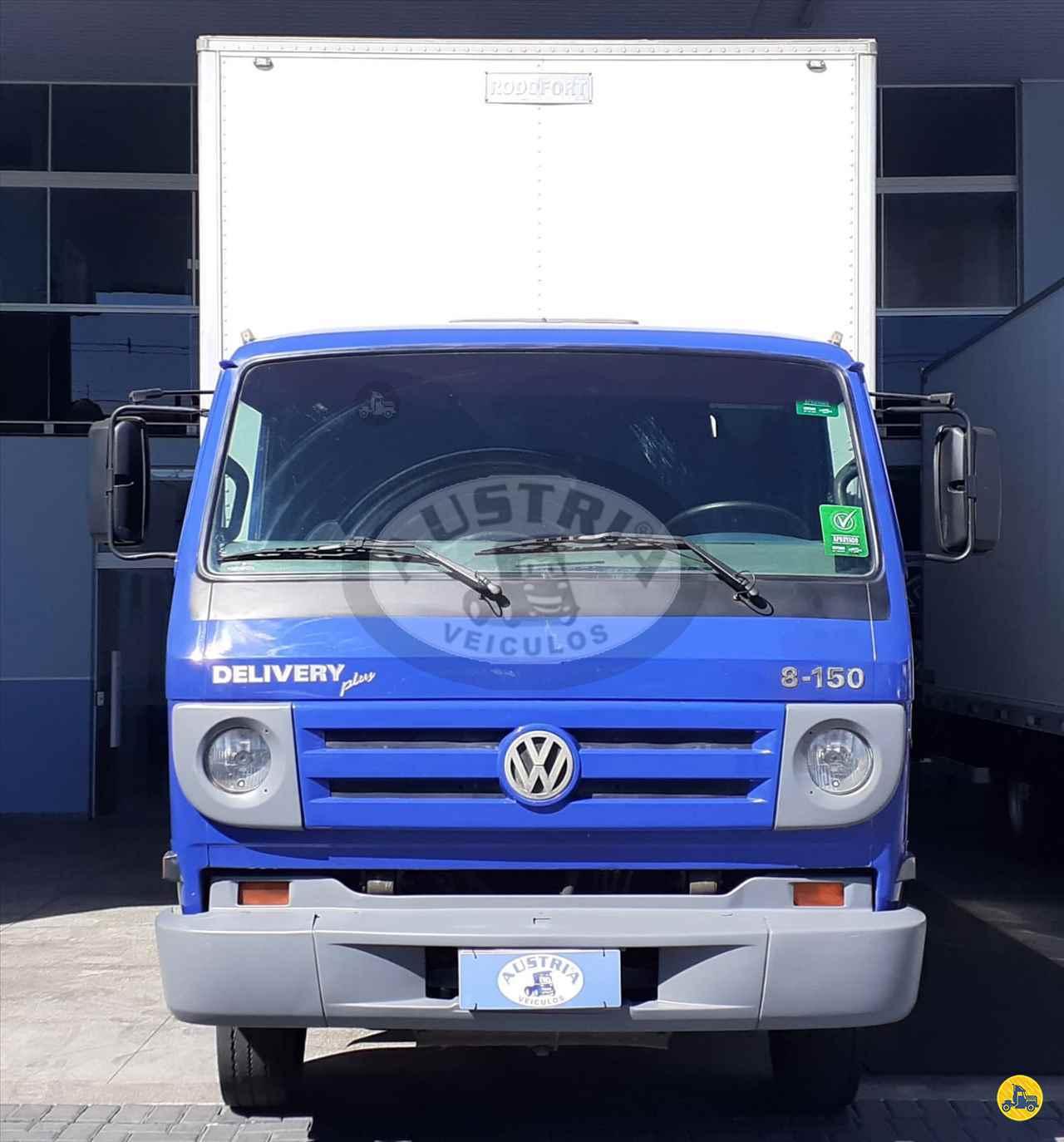 CAMINHAO VOLKSWAGEN VW 8150 Baú Furgão 3/4 4x2 Austria Utilitários e Financiamentos CURITIBA PARANÁ PR