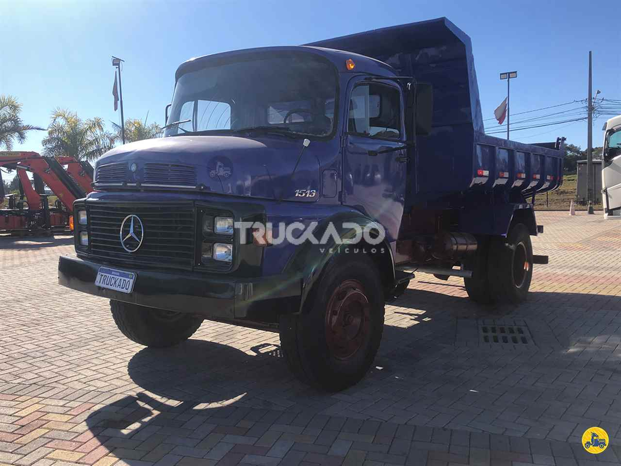 CAMINHAO MERCEDES-BENZ MB 1513 Caçamba Basculante Toco 4x2 Truckado Veículos SINOP MATO GROSSO MT