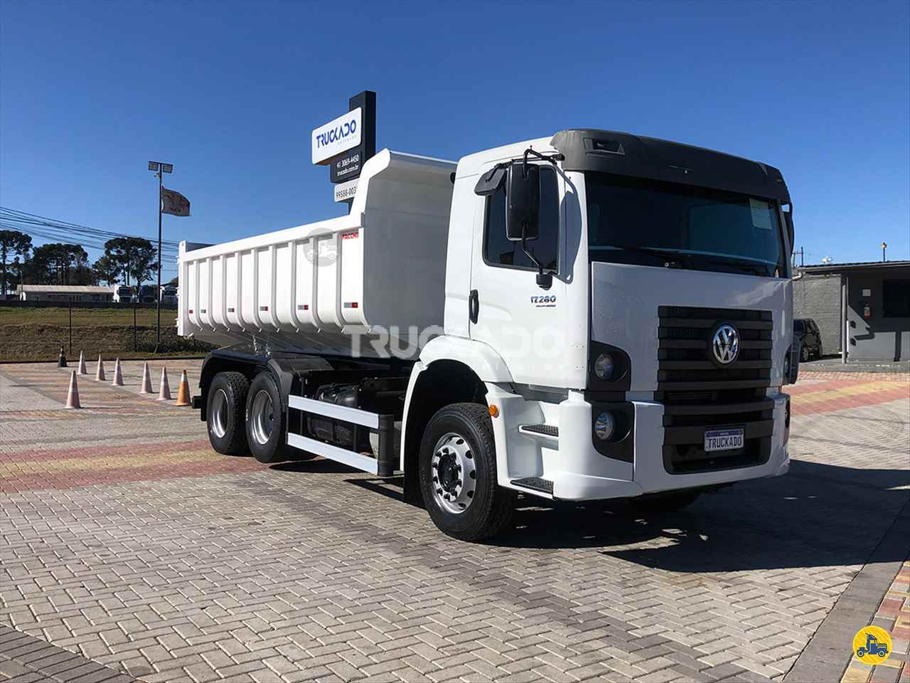CAMINHAO VOLKSWAGEN VW 17280 Caçamba Basculante Truck 6x2 Truckado Veículos SINOP MATO GROSSO MT