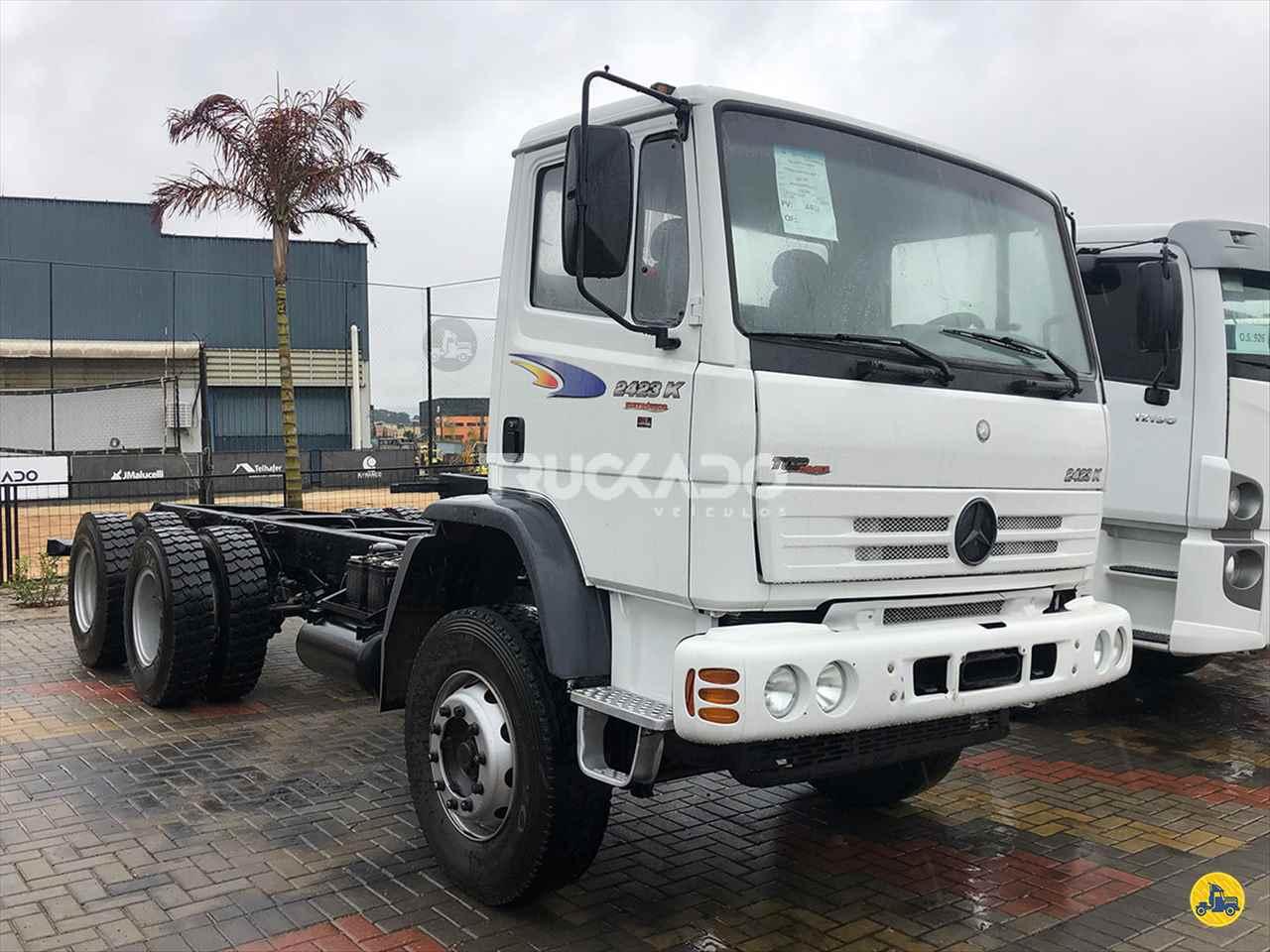 CAMINHAO MERCEDES-BENZ MB 2423 Chassis Truck 6x2 Truckado Veículos SINOP MATO GROSSO MT