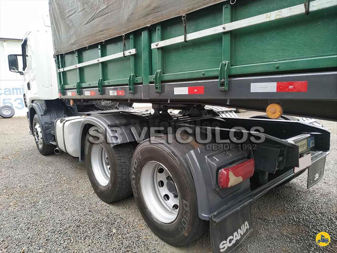 SCANIA SCANIA 124 420 640156km 2005/2005 SB Veiculos