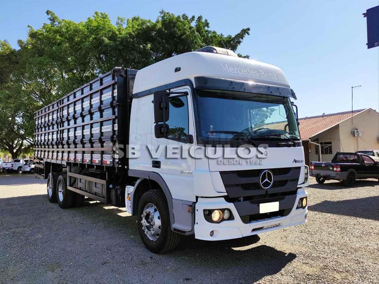 CAMINHAO MERCEDES-BENZ MB 2430 Graneleiro Truck 6x2 SB Veiculos CATANDUVA SÃO PAULO SP