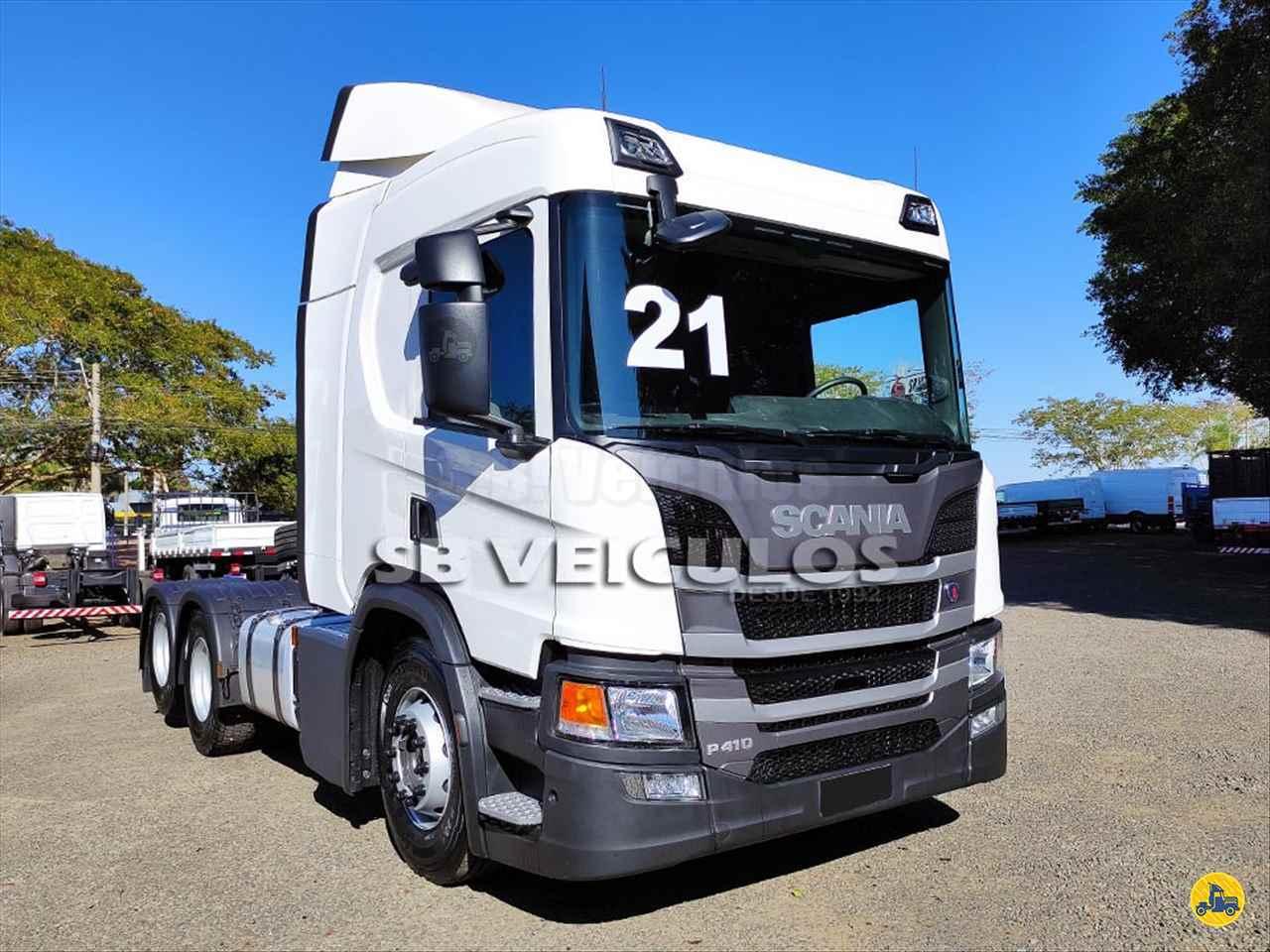 CAMINHAO SCANIA SCANIA P410 Cavalo Mecânico Truck 6x2 SB Veiculos CATANDUVA SÃO PAULO SP