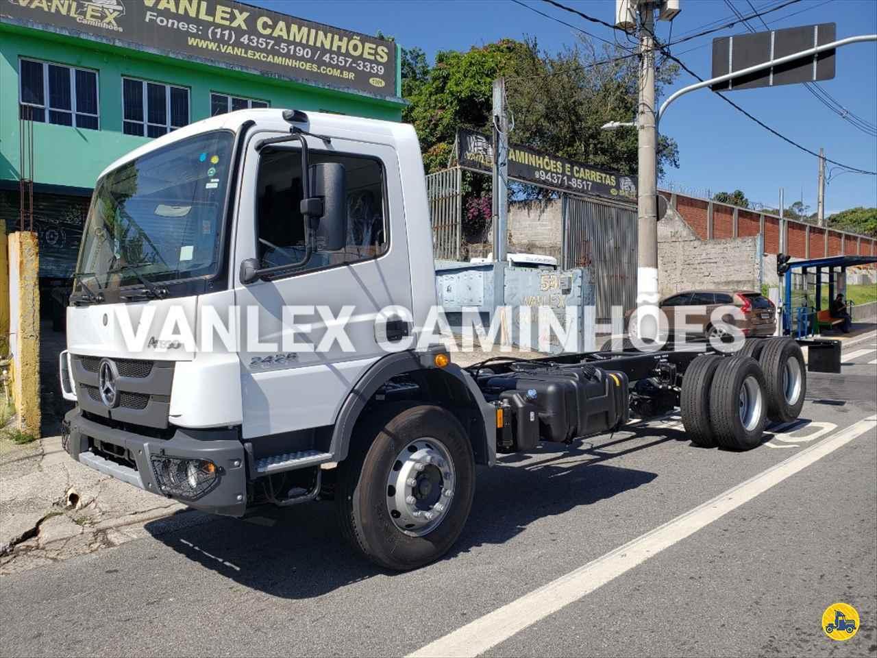 CAMINHAO MERCEDES-BENZ MB 2426 Chassis Truck 6x2 Vanlex Caminhões SAO BERNARDO DO CAMPO SÃO PAULO SP