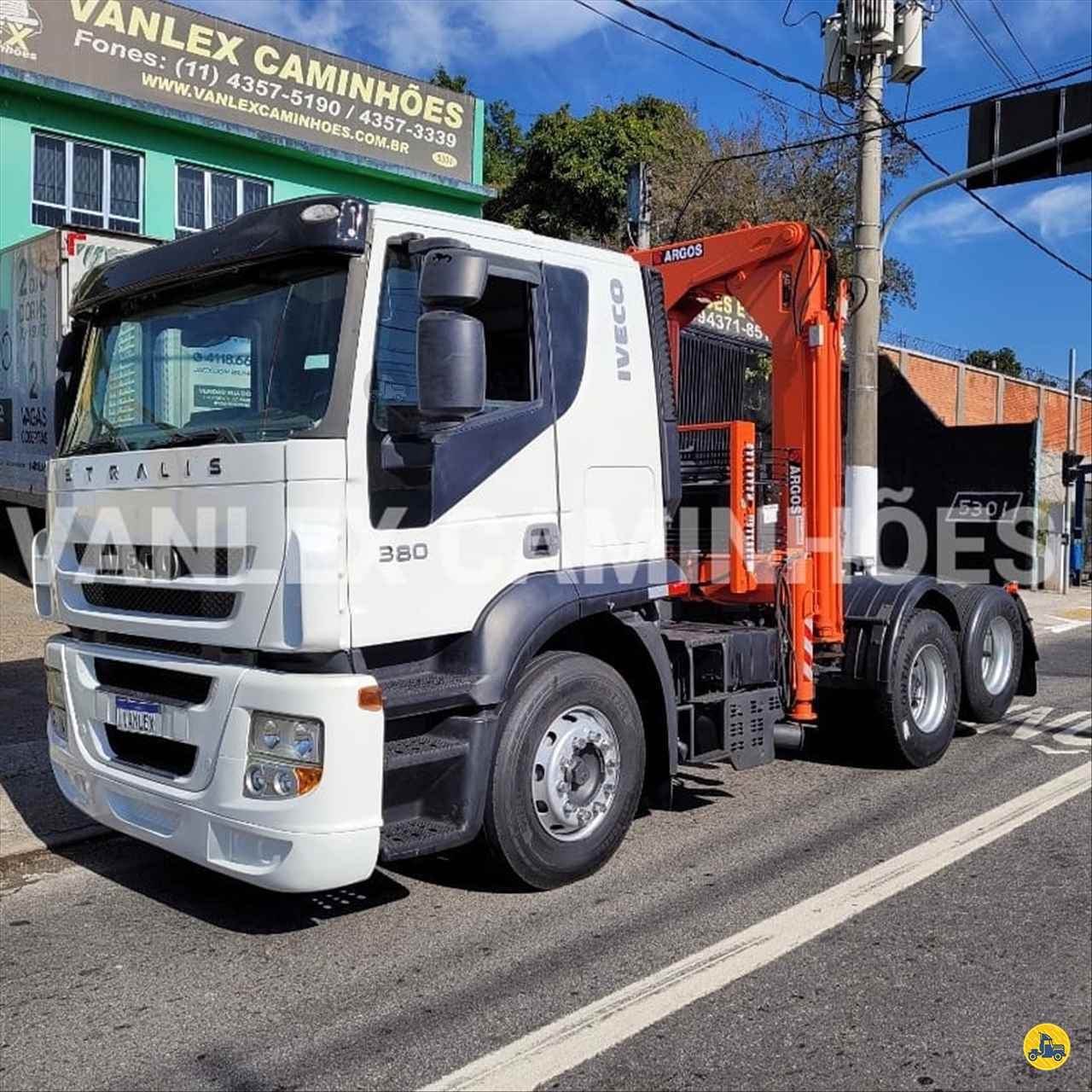 CAMINHAO IVECO STRALIS 380 Guincho Munck Truck 6x2 Vanlex Caminhões SAO BERNARDO DO CAMPO SÃO PAULO SP