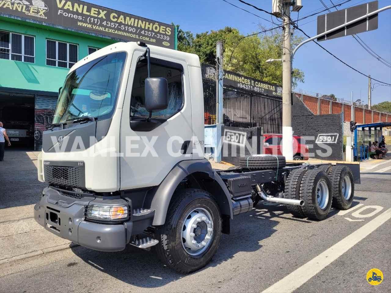 CAMINHAO VOLVO VOLVO VM 270 Chassis Traçado 6x4 Vanlex Caminhões SAO BERNARDO DO CAMPO SÃO PAULO SP