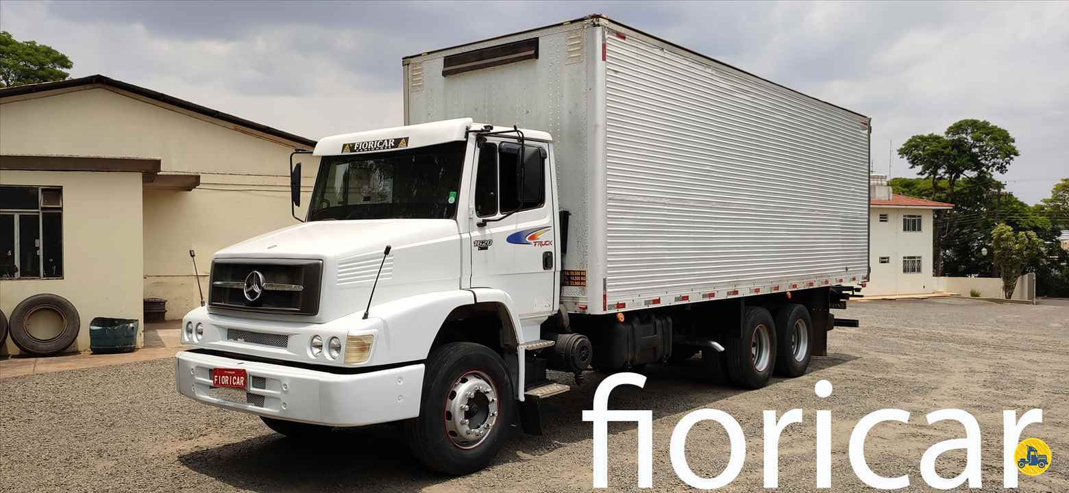 CAMINHAO MERCEDES-BENZ MB 1620 Baú Furgão Truck 6x2 Fioricar Caminhões MARIALVA PARANÁ PR