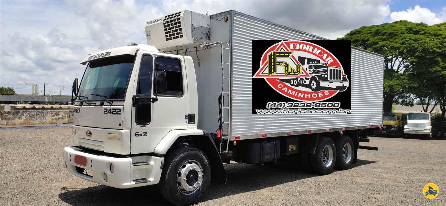 CAMINHAO FORD CARGO 2422 Baú Frigorífico Truck 6x2 Fioricar Caminhões MARIALVA PARANÁ PR