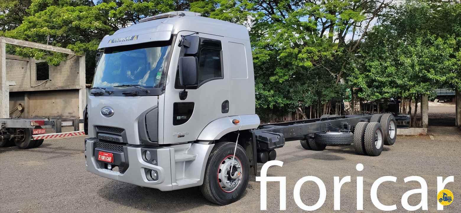 CAMINHAO FORD CARGO 2429 Chassis Truck 6x2 Fioricar Caminhões MARIALVA PARANÁ PR