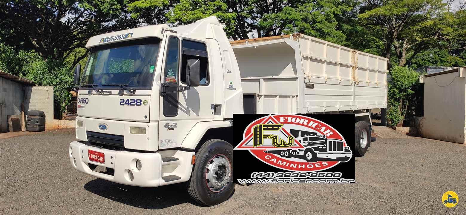 CAMINHAO FORD CARGO 2428 Caçamba Basculante Truck 6x2 Fioricar Caminhões MARIALVA PARANÁ PR
