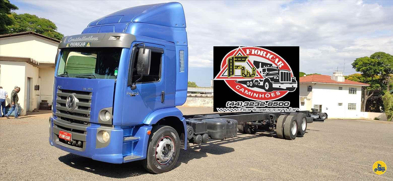 CAMINHAO VOLKSWAGEN VW 24250 Chassis Truck 6x2 Fioricar Caminhões MARIALVA PARANÁ PR