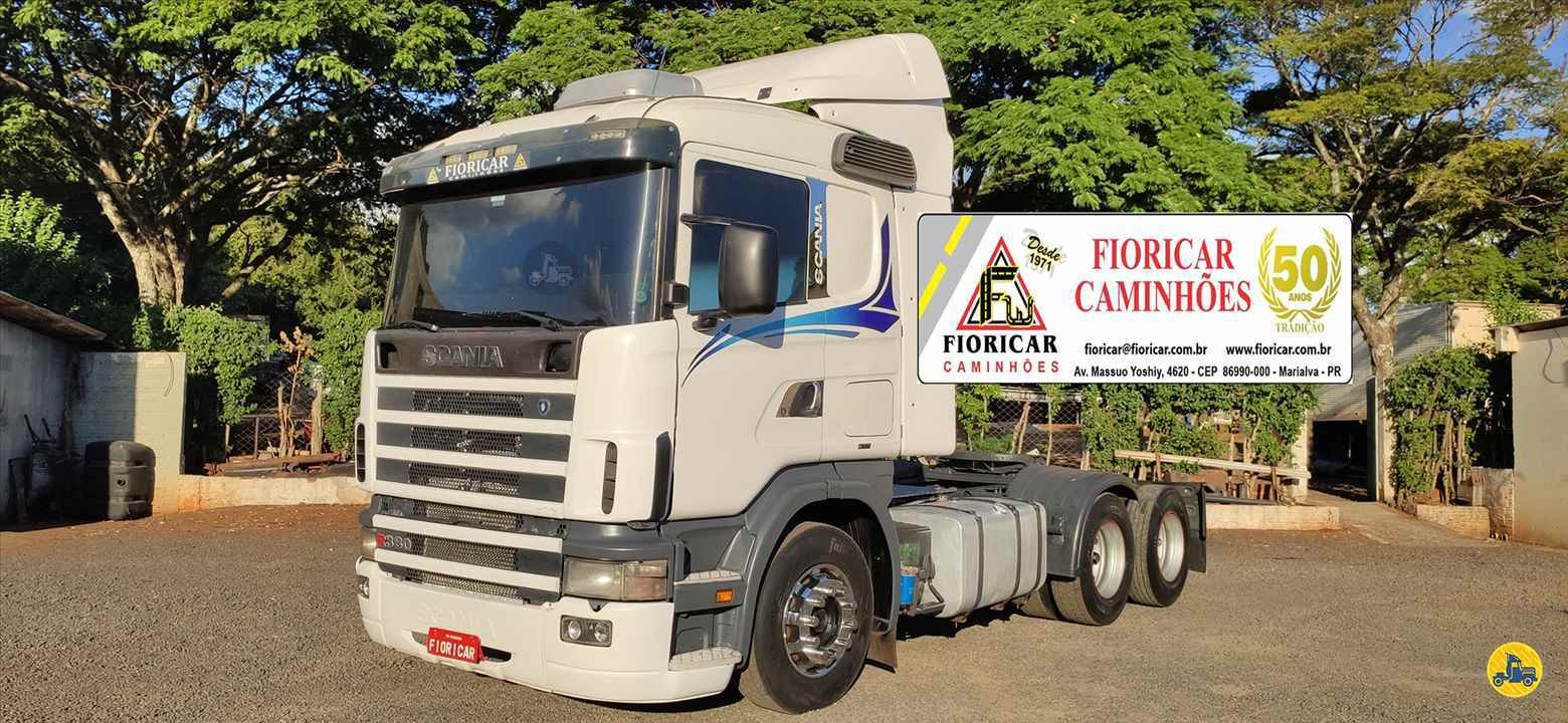 CAMINHAO SCANIA SCANIA 114 380 Cavalo Mecânico Truck 6x2 Fioricar Caminhões MARIALVA PARANÁ PR