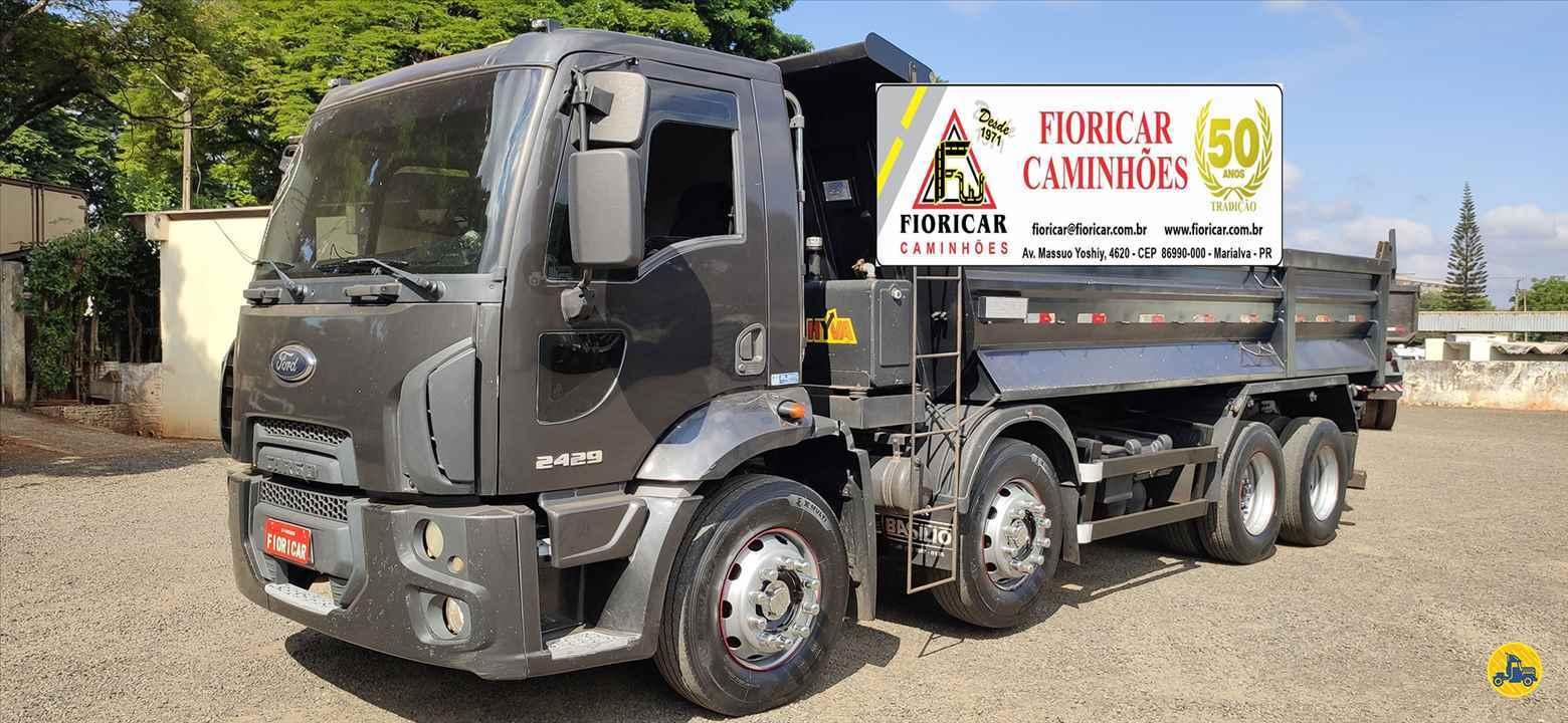 CAMINHAO FORD CARGO 2429 Caçamba Basculante BiTruck 8x2 Fioricar Caminhões MARIALVA PARANÁ PR