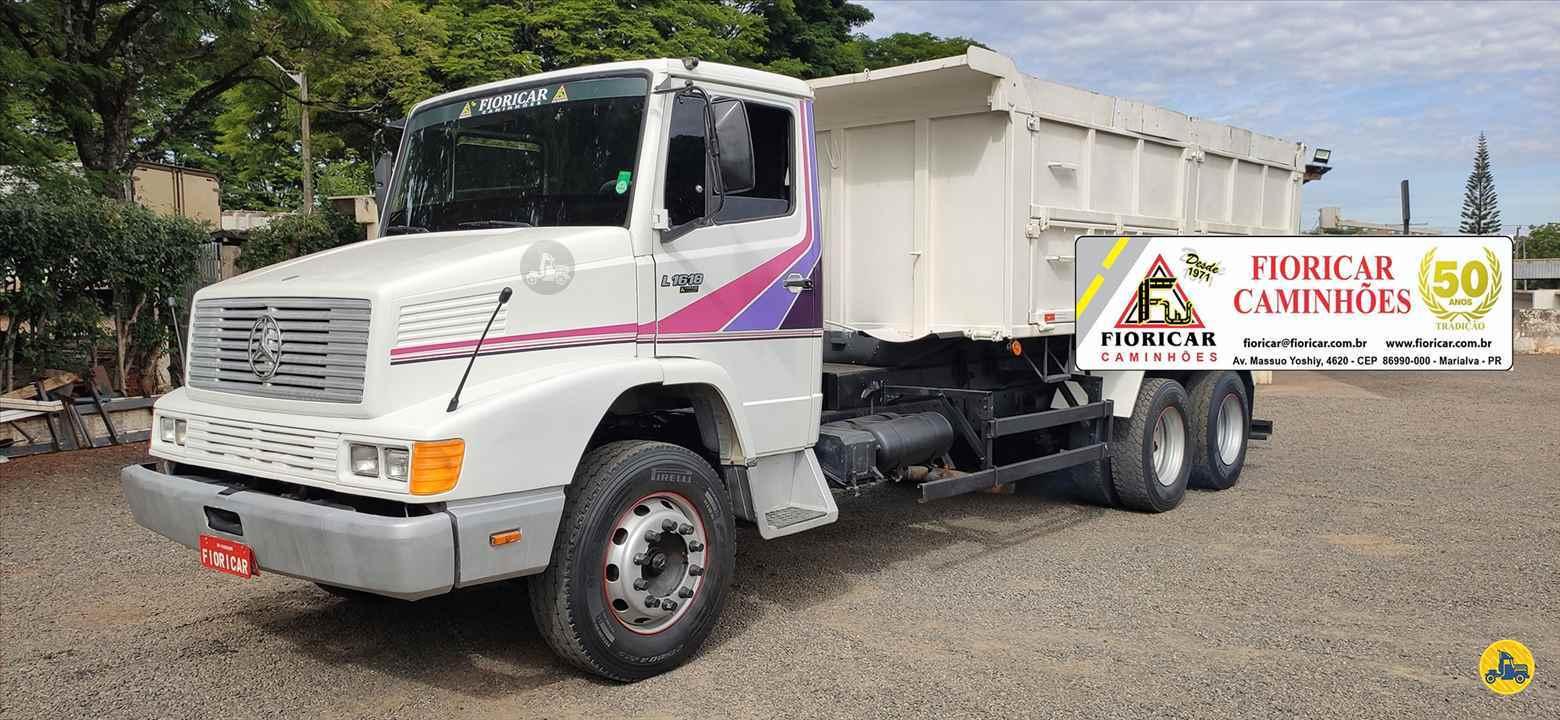CAMINHAO MERCEDES-BENZ MB 1618 Caçamba Basculante Truck 6x2 Fioricar Caminhões MARIALVA PARANÁ PR